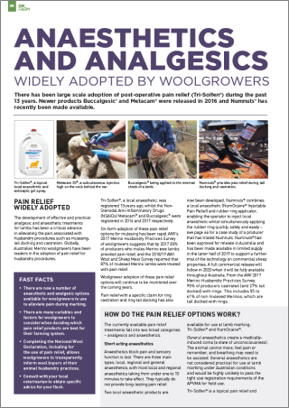 anaesthetics-and-analgesics